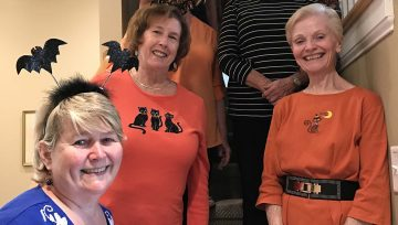 Page Turners Celebrated Halloween in Fashion!